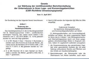 CSR-Richtlinie-Umsetzungsgesetz
