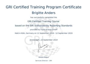 GRI-Zertifizierung